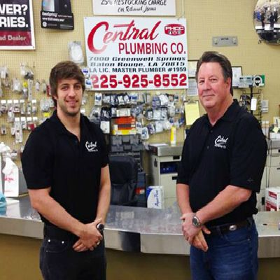 Central Plumbing Jay and Zach