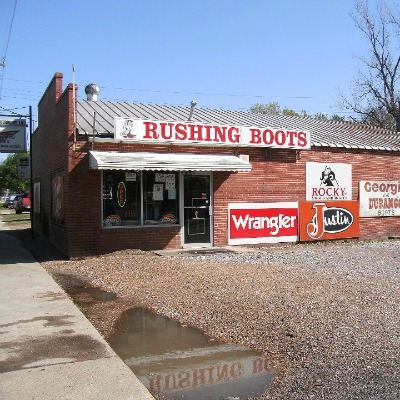 Rushing Boots